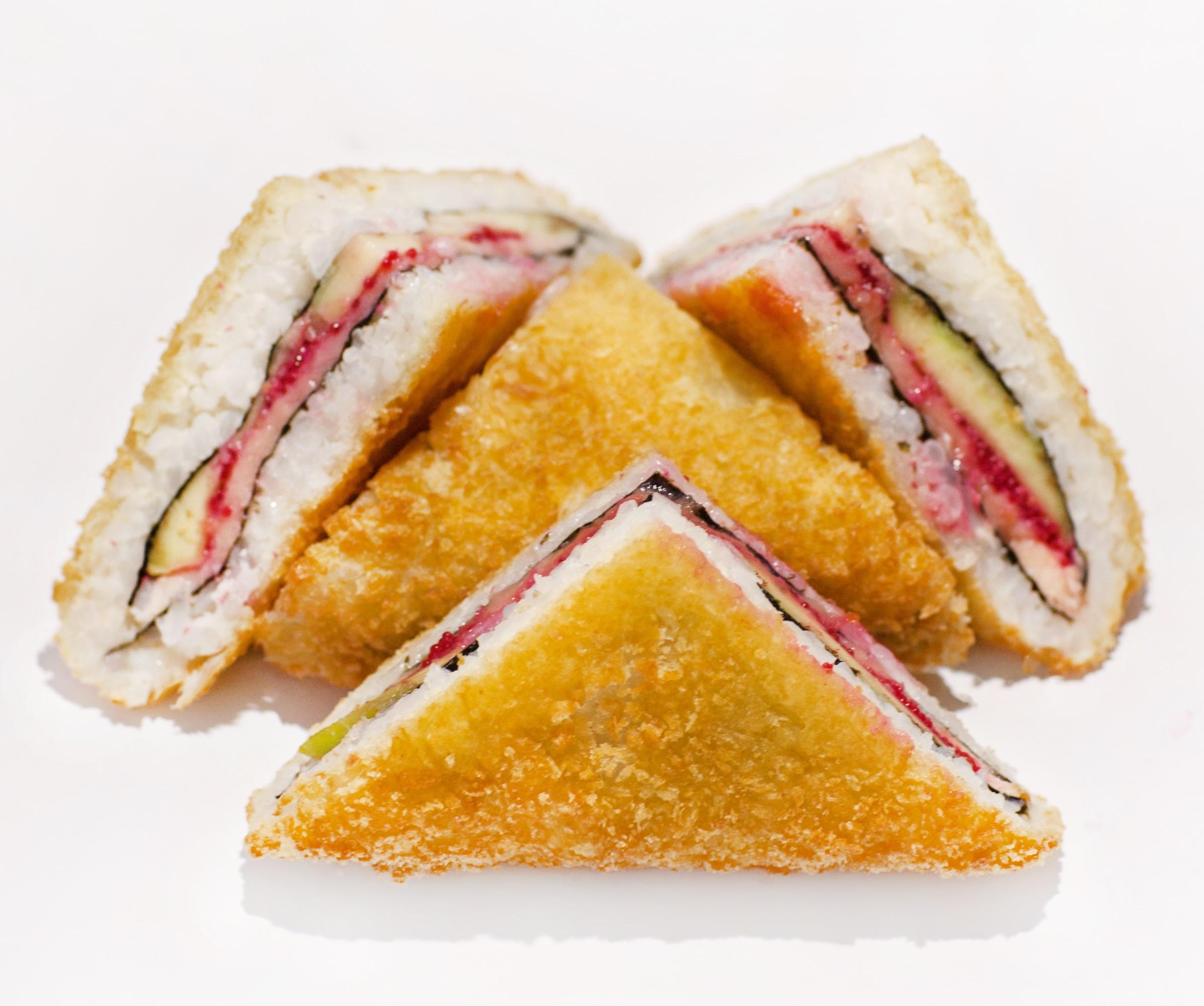 Сэндвич ролл с курицей