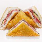 Сэндвич ролл с лососем
